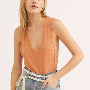 We The Free People The Plunge Tank Top Women's S